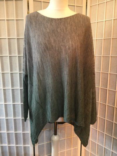 Two-Tone Fine Knit - Green